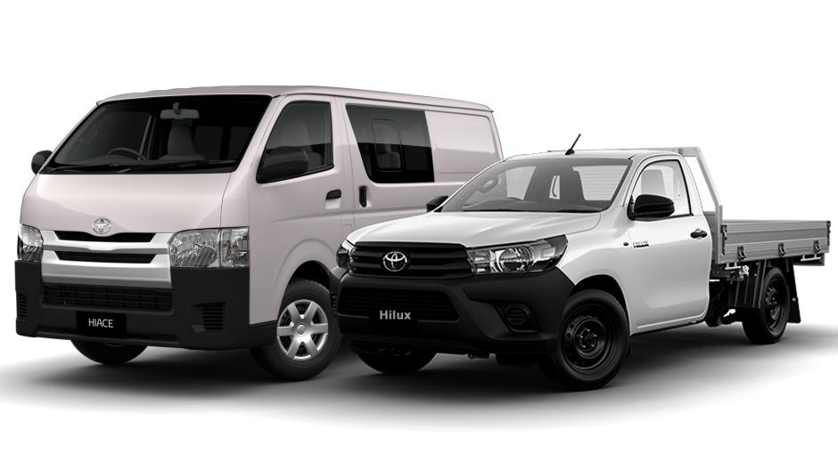 Hiace and Hilux